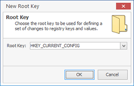 Adding a root key to a project