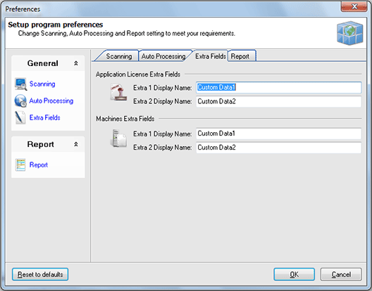Configuring Extra Fields