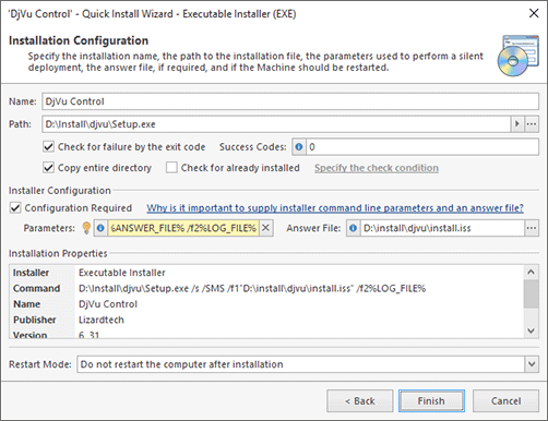 Deploying Software Using the Quick Install Operation - Remote Installer