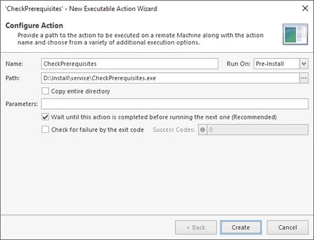Executable File Configuration