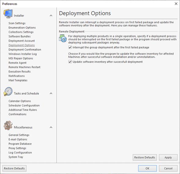 Configuring bundle templates