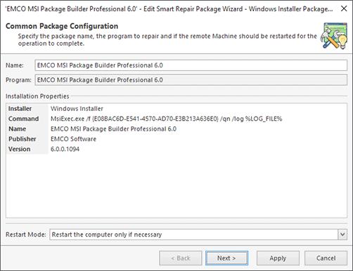 Deployment Packages - Remote Installer